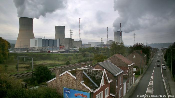 Belgien Atomkraftwerk Tihange