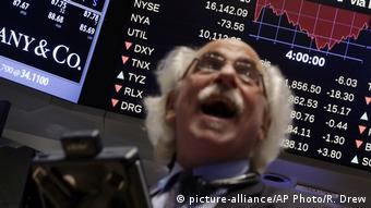 Wall Street (picture-alliance/AP Photo/R. Drew)