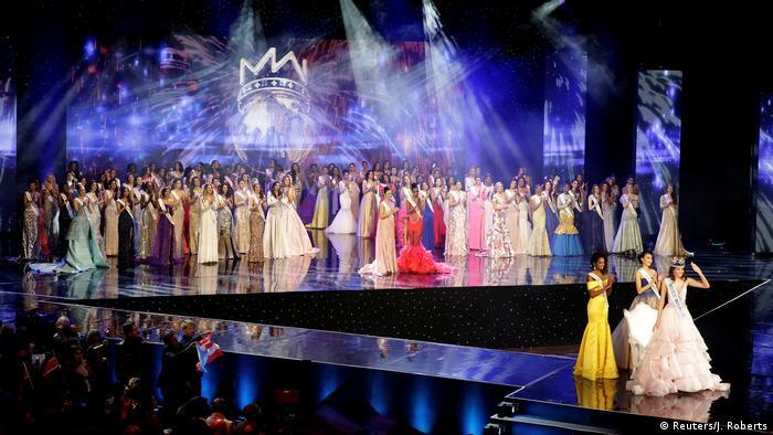 USA Miss World 2016 in Oxen Gewinnerin Stephanie Del Valle aus Puerto Rico (Reuters/J. Roberts)