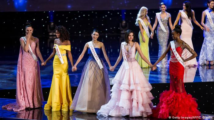 USA Miss World 2016 in Oxen Finalistinnen (Getty Images/AFP/Z. Gibson)