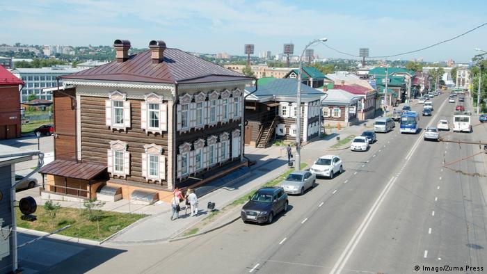 Russland Sibirien Stadtansicht Irkutsk