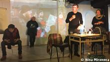 Theaterstück Letzte Party. Menschenrechtler Moskau Russland