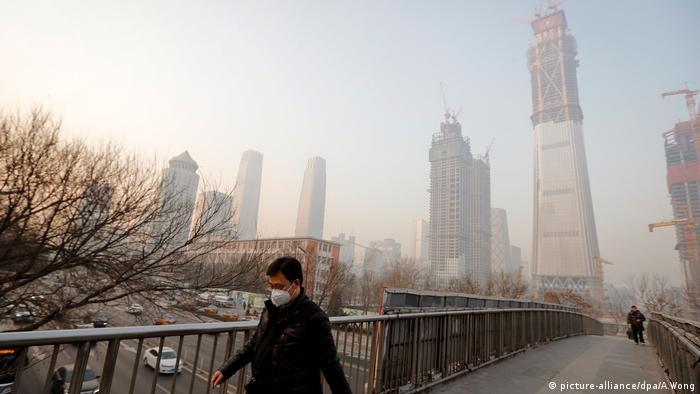 China Luftverschmutzung Smog