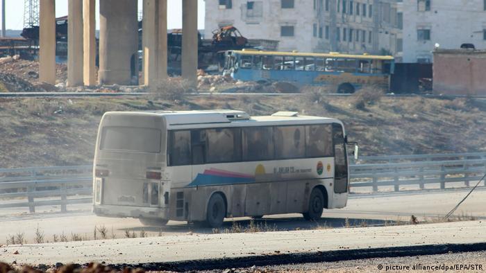 Syrien Evakuierung aus Aleppo