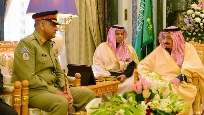 Saudi-Arabien General Qamar Javed Bajwa, Chief of Army staff (COAS)