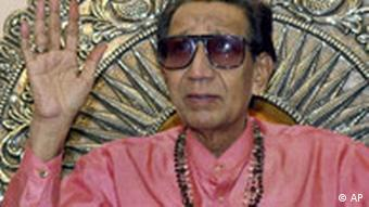 Bal Thackeray Indischer Nationalist