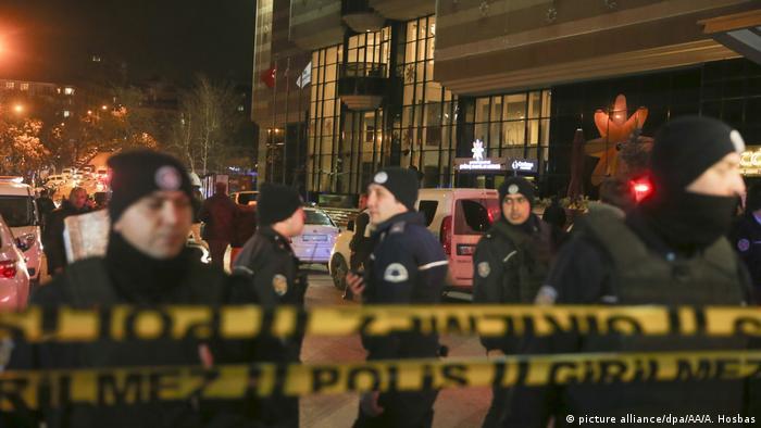 Türkei Russischer Botschafter Andrey Karlow in Ankara angeschossen
