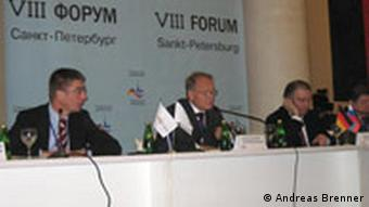 Petersburger Dialog 2008, Quelle: DW