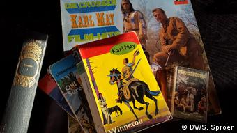 Winnetou books and records (DW/S. Spröer)