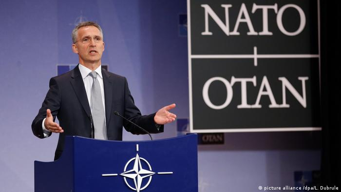 Jens Stoltenberg, NATO Secretary General (picture alliance /dpa/L. Dubrule)