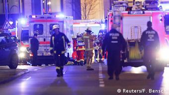 На площади Брайтшайдплац вскоре после теракта