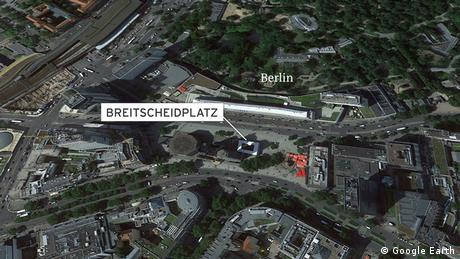 Nine dead and many injured at a Berlin Christmas market. (Google Earth)