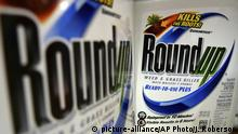 Bottles of Roundup herbicide, a product of Monsanto