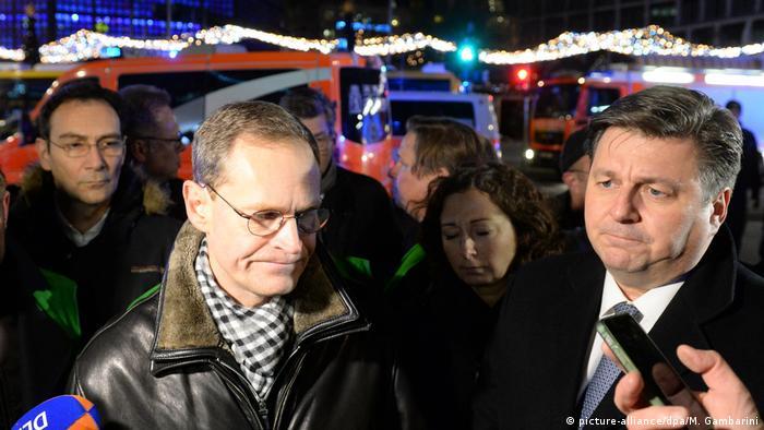 Deutschland Neun Tote und viele Verletzte auf Berliner Weihnachtsmarkt Michael Müller (picture-alliance/dpa/M. Gambarini)