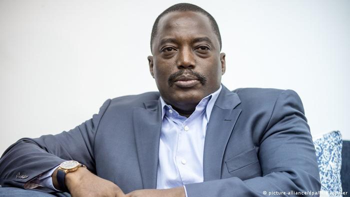 A portrait of President Joseph Kabila
