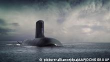 epa05277499 A handout picture made available by the DCNS Group, a French industrial group specialized in naval defense, on 26 April 2016 shows French submarine Shortfin Barracuda, designed by the DCNS group. According to media reports on 26 April, DCNS won 50 billion Australian dollar (about 38.6 billion US dollar) contract to build a fleet of submarines for the Royal Australian Navy (RAN). The submarines will be built in Adelaide, Australian Prime Minister Malcolm Turnbull said. Shipbuilders from France, Germany and Japan took part in the bid. EPA/DCNS GROUP AUSTRALIA AND NEW ZEALAND OUT HANDOUT EDITORIAL USE ONLY/NO SALES +++(c) dpa - Bildfunk+++ |