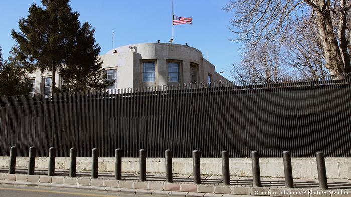 Американское посольство в Анкаре
