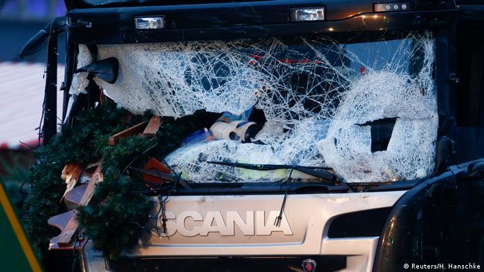 Deutschland Anschlag mit LKW auf Weihnachtsmarkt in Berlin