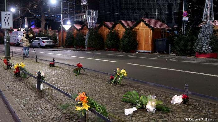 На месте теракта в Берлине