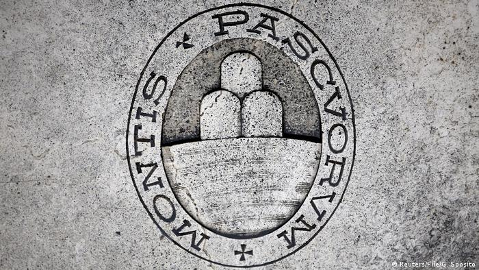 Italien Logo der Bank Monte dei Paschi di Siena (Reuters/File/G. Sposito)