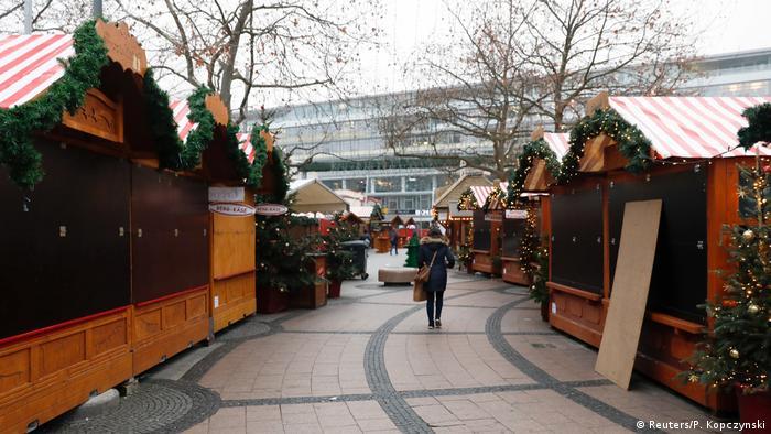 Рождественский рынок на Брайтшайдплац до теракта
