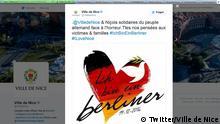 Stadt Niza: Ich bin ein Berliner