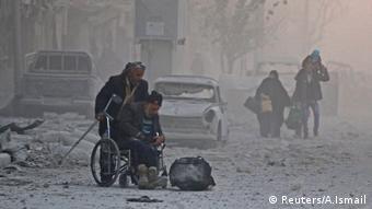 Aleppo Syrien Evakuierung (Reuters/A.Ismail)