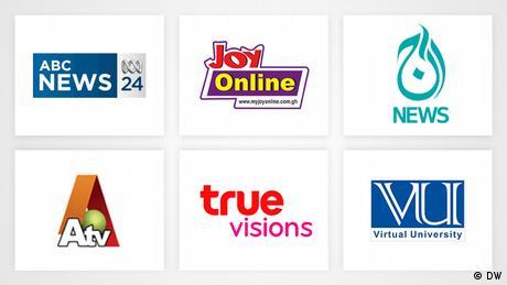 Grafik zeigt Premiumpartnerlogos für unsere Business&Sales-Seite. (DW)
