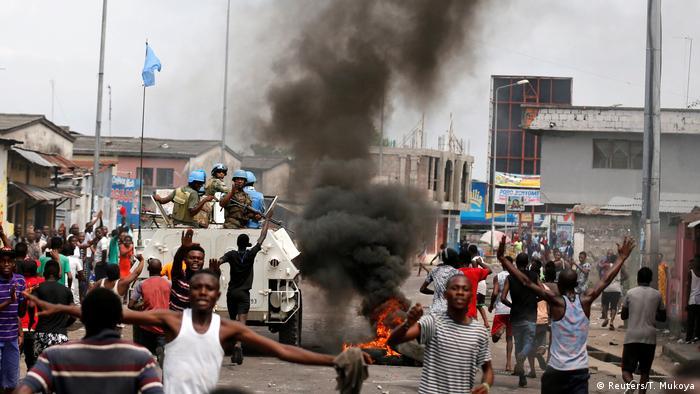 Demokratische Republik Kongo Proteste gegen Kabila