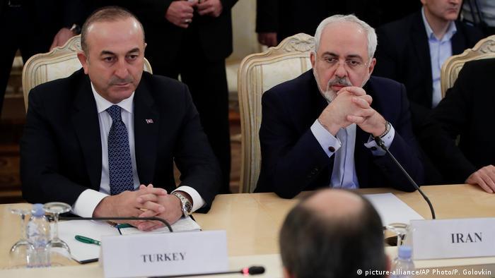 Встреча представителей Ирана, Турции и России в Москве