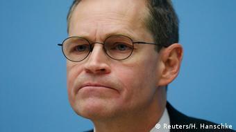 Deutschland PK Michael Mueller in Berlin (Reuters/H. Hanschke)