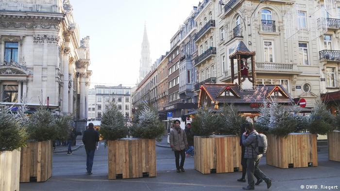 Weihnachtsmarkt Brüssel Innenstadt - Sicherheitskonzept