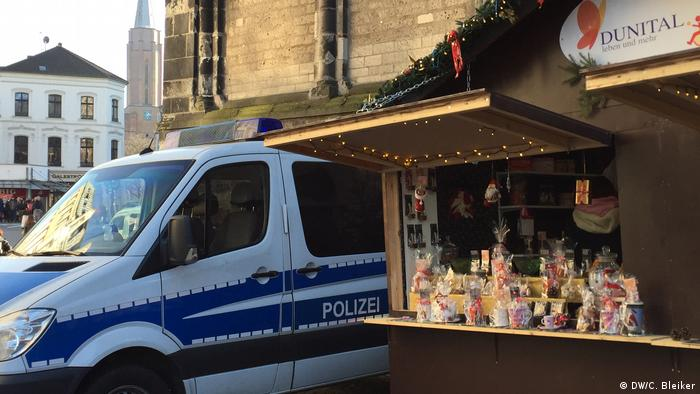 Deutschland Weihnachtsmarkt in Bonn
