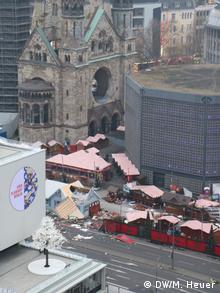 Deutschland Berlin nach Anschlag auf Breitscheidplatz