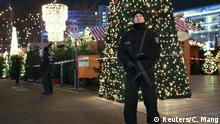 19.12.2016*** German police officers secure the site of an accident with a truck at a Christmas market on Breitscheidplatz square near the fashionable Kurfuerstendamm avenue in the west of Berlin, Germany, December 19, 2016. REUTERS/Christian Mang