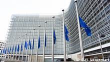 20.12.2016 European flags fly at half-mast