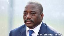 Demokratische Republik Kongo Joseph Kabila in Bata (Getty Images/AFP/C. De Souza)
