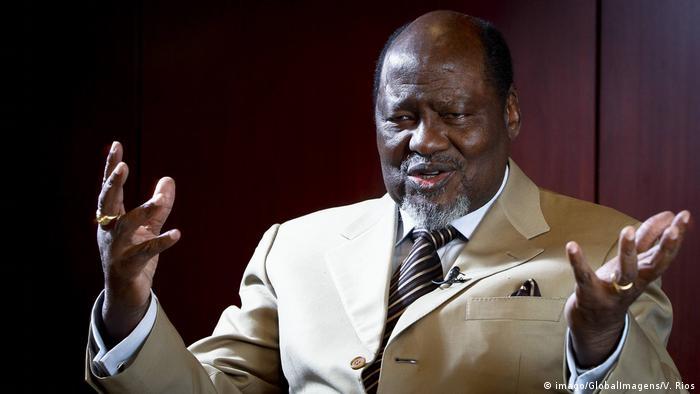 Mosambik Ex-Präsident Joaquim Chissano