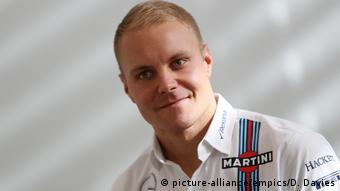 Großbritannien Rennfahrer Valtteri Bottas in Grove (picture-alliance/empics/D. Davies)