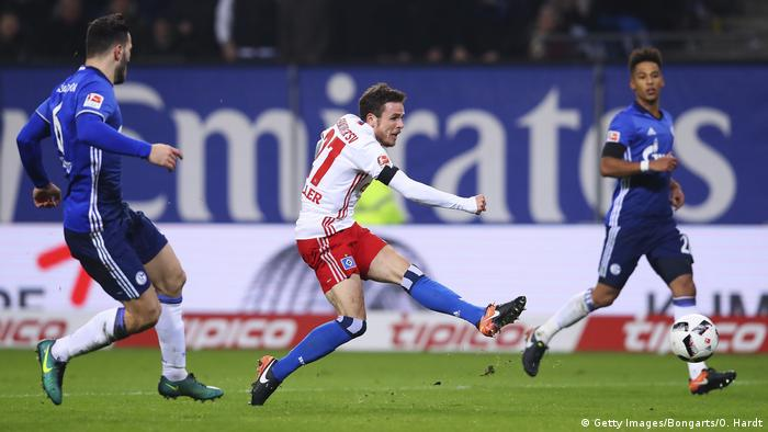 Deutschland Fußball Bundesliga - Hamburger SV vs. FC Schalke 04 (Getty Images/Bongarts/O. Hardt)