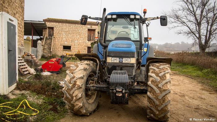 Spanien Weihnachtslotterie El Gordo Landwirtschaft (Reiner Wandler)