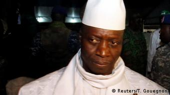 Gambia Präsident Yahya Jammeh (Reuters/T. Gouegnon)