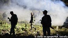 Mexiko Kampf gegen Opiumanbau