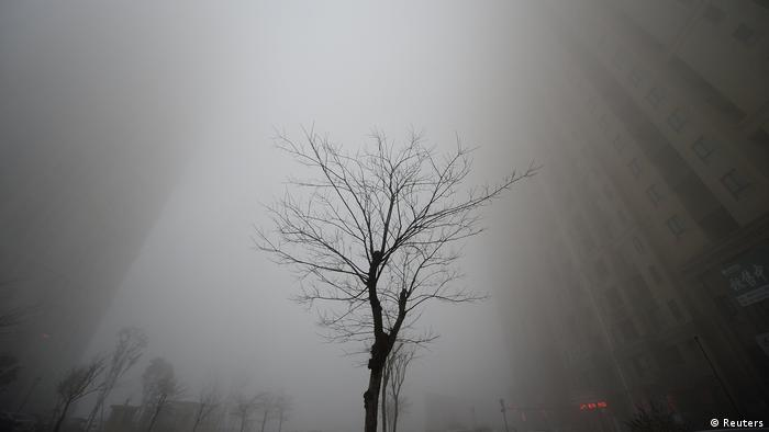 China Smog in Jinan (Reuters)