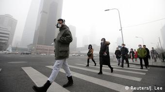 China Smog in Peking (Reuters/J. Lee)
