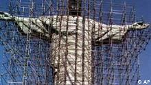 Christus-Statue Corcovado in Rio de Janeiro