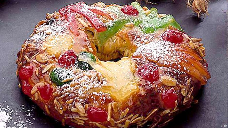 Bolo Rei Christmas cake from Portugal