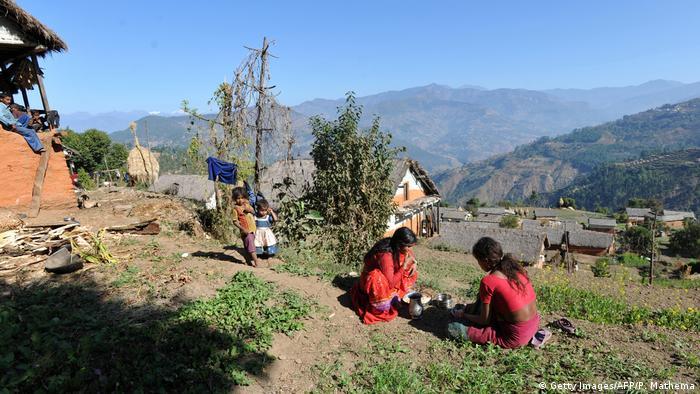 Nepal Achham - Religion und Frauen (Getty Images/AFP/P. Mathema)