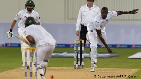 Dubai Cricket Pakistan vs. West Indies (Getty Images/AFP/A. Qureshi)