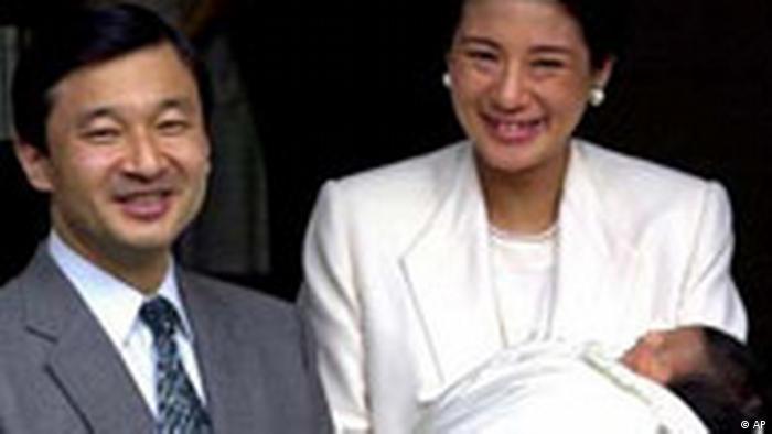 Der japanische Kronprinz Naruhito und Kronprinzessin Masako (AP)